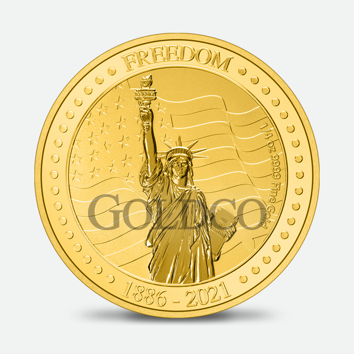 Gold Freedom Coin