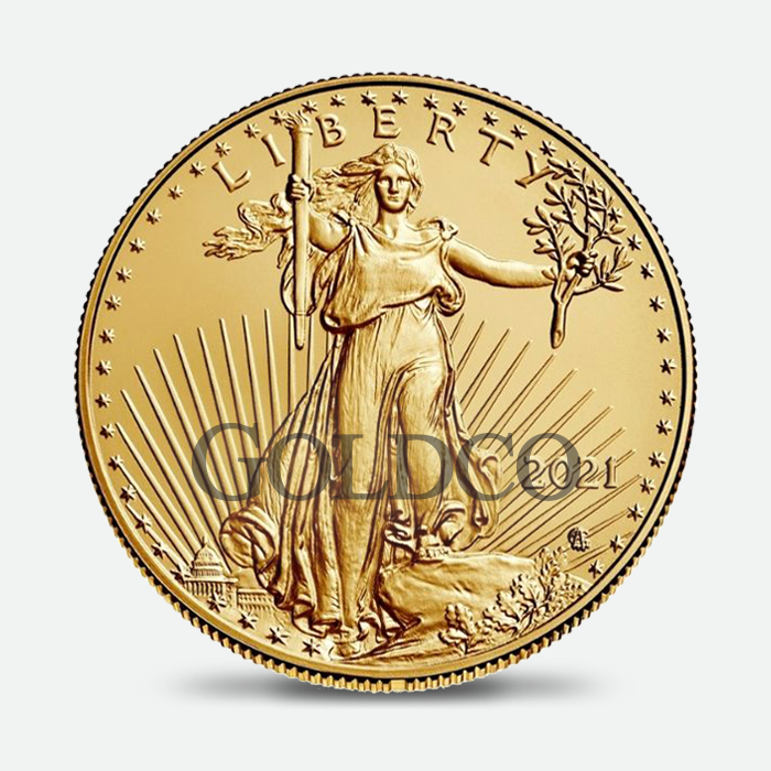 2021-American-Gold-Eagle-Coin-Type-2